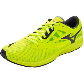 Mizuno Wave Sonic 2 Laufschuhe Herren safety yellow/black/white